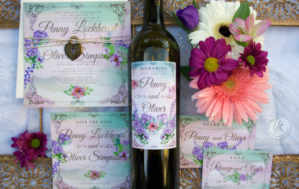 WEDDING SUITES & WINE LABELS